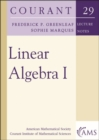 Image for Linear Algebra I