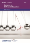 Image for Lectures on differential equations