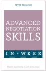 Image for Advanced negotiation skills in a week