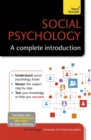 Image for Social psychology  : a complete introduction