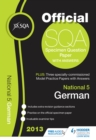 Image for SQA specimen paper 2013 National 5 German and model papers.