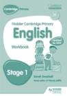 Image for Hodder Cambridge primary EnglishStage 1,: Work book