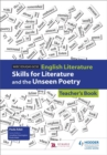Image for WJEC Eduqas GCSE English literature: Skills for literature and the unseen poetry