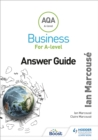 Image for AQA A-level business for A-level: Answer guide