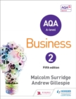 Image for AQA A-level business2