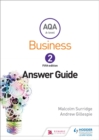 Image for AQA business for A level 2: Answers