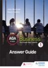 Image for AQA A level business 1: Answers
