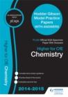 Image for SQA Specimen Paper 2014 Higher for CfE Chemistry & Hodder Gibson Model Papers