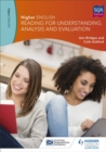 Image for Higher English for CfE  : reading for understanding, analysis and evaluation