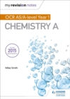 Image for OCR AS chemistry A