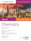 Image for Edexcel chemistry1: Student guide