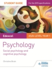 Image for Edexcel psychology student guide 1  : social psychology and cognitive psychology