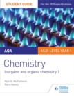Image for AQA chemistryStudent guide 2,: Inorganic and organic chemistry