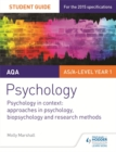 Image for AQA psychology2,: Psychology in context :