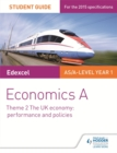 Image for Edexcel economics ATheme 2,: The UK economy - performance and policies