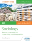 Image for OCR sociology student guide2,: Research methods and researching social inequalities