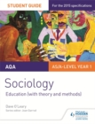 Image for AQA sociology: Education (with theory and methods)