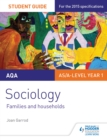 Image for AQA Sociology Student Guide 2: Families and households