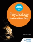 Image for AQA psychology for AS: revision made easy