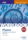 Image for AQA physics  : mechanics and materials - electricity,: Workbook