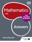 Image for Mathematics for Common EntranceOne,: Answers