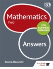 Image for Mathematics for Common EntranceTwo,: Answers : Two