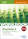 Image for OCR chemistry A  : foundations in chemistrrry - periodic table: Workbook
