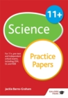 Image for 11+ science practice papers  : for 11+, pre-test and independent school exams including CEM, GL and ISEB