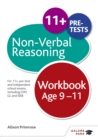 Image for Non-verbal reasoning workbook  : for 11+, pre-test and independent school exams including CEM, GL and ISEB: Age 9-11
