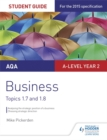 Image for AQA A-Level businessStudent guide 3,: Topics 1.7-1.8