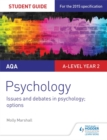 Image for AQA psychologyStudent guide 3,: Issues and debates in psychology
