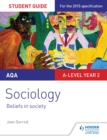 Image for AQA A-level sociology.: (Beliefs in society)