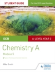 Image for OCR chemistry A: Physical chemistry and transition elements