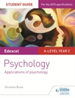 Image for Edexcel A-level psychology: Applications of psychology