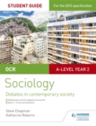 Image for OCR sociologyStudent guide 3,: Debates in contemporary society