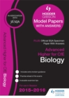 Image for Advanced Higher biology 2015/16