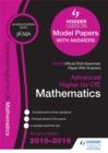 Image for Advanced Higher mathematics 2015/16