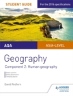 Image for AQA geography student guideComponent 2,: Human geography