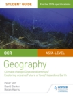 Image for OCR A Level geographyStudent guide 3,: Geographical debates, climate, disease, oceans, food, hazards