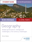 Image for WJEC/Eduqas geography: Global governance :