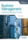Image for Business management for the IB diploma study and revision guide