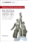 Image for Edexcel AS/A-level history: Russia 1917-91 - from Lenin to Yeltsin