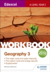 Image for Edexcel A level geography3,: Workbook