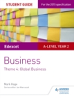 Image for Edexcel A-level businessTheme 4: Student guide