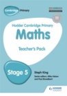 Image for Hodder Cambridge primary mathematics: Teacher's resource pack 5