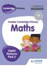 Image for Hodder Cambridge primary mathsDigital resource pack 3