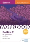 Image for Edexcel AS/A-level year 1 politics 2: UK government
