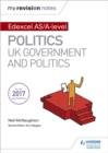 Image for Edexcel AS/A-level politics: UK government and politics