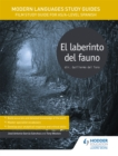 Image for El laberinto del faunoAS/A-Level Spanish,: Modern languages study guides