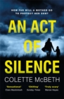 Image for An act of silence